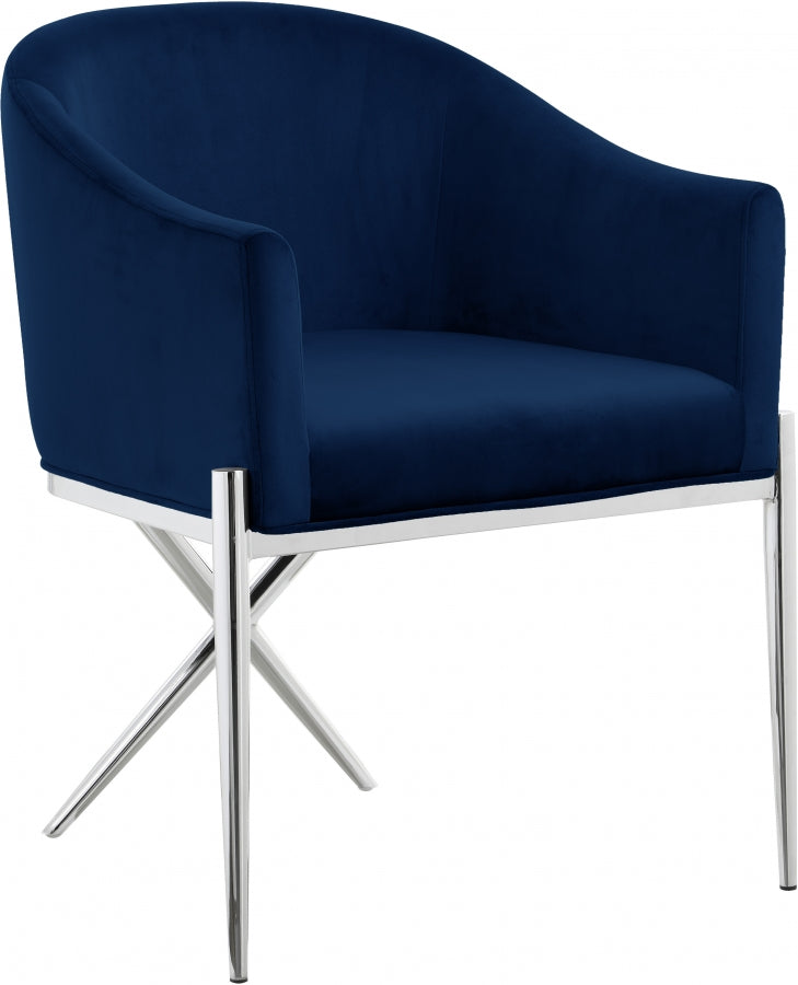 Zavier Velvet Dining Chair