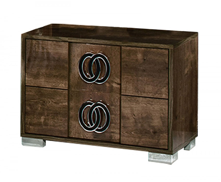 York 2-Drawer Nightstand