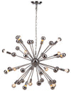 STICKY CHROME CHANDELIER