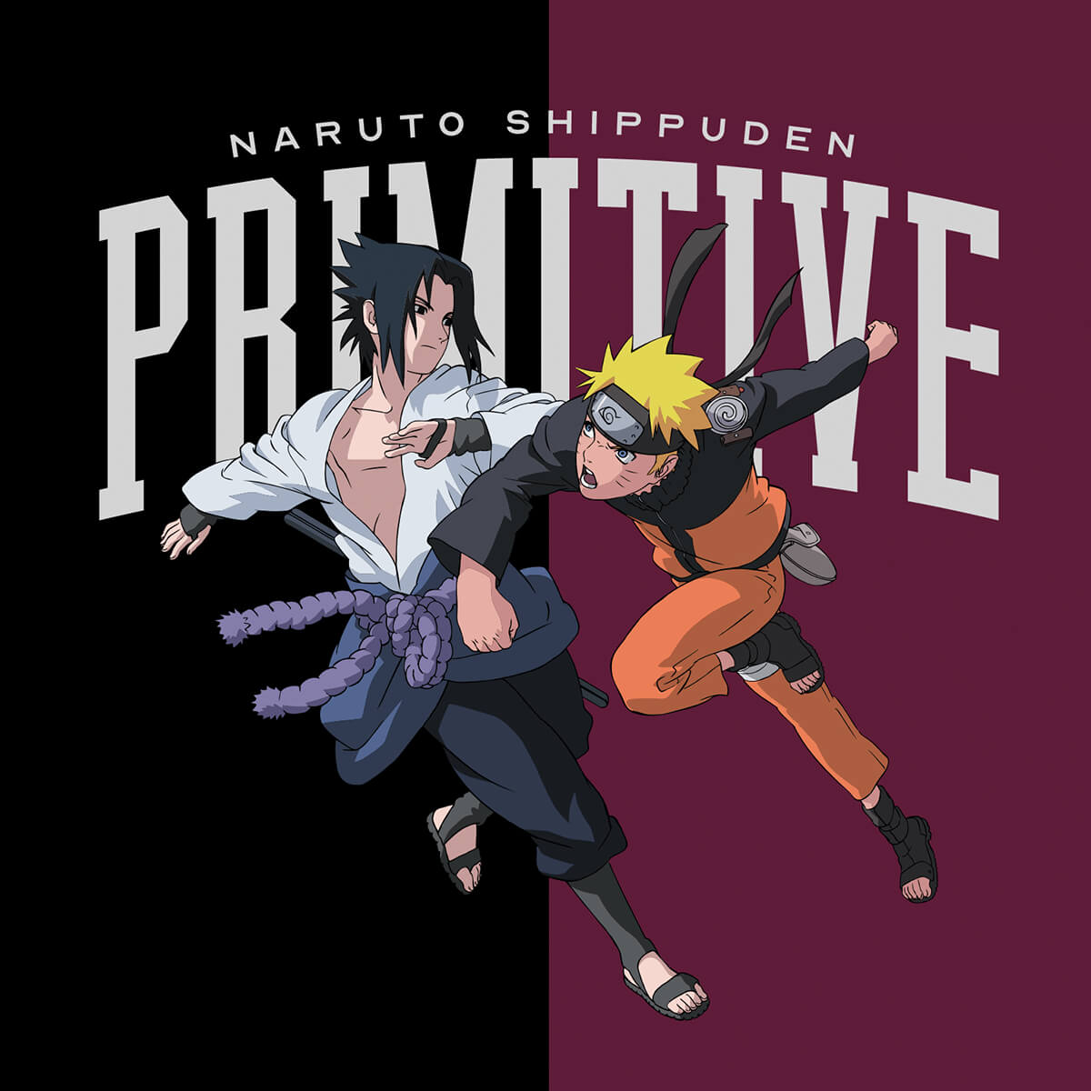Naruto Collections by Primitive Clothing