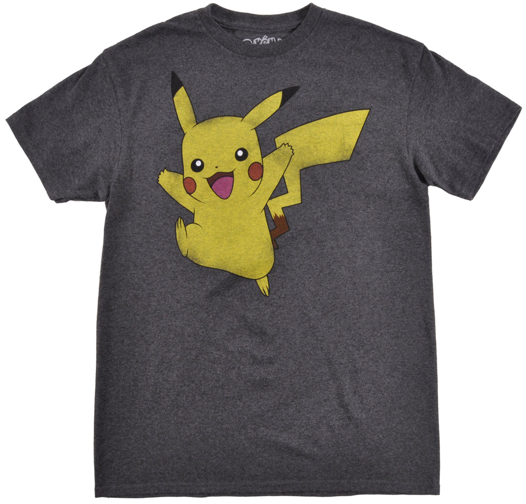 Pokemon Pikachu T-Shirt Mens Short Sleeve Fashion Nintendo Licensed Apparel