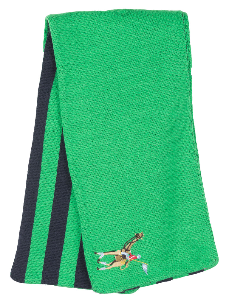 LRG Polo Striped Scarf Knit Fashion Accessory Streetwear Warm Style Unisex Green