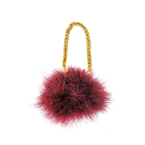 Bon Bon Bracelet Bag in Beaujolais