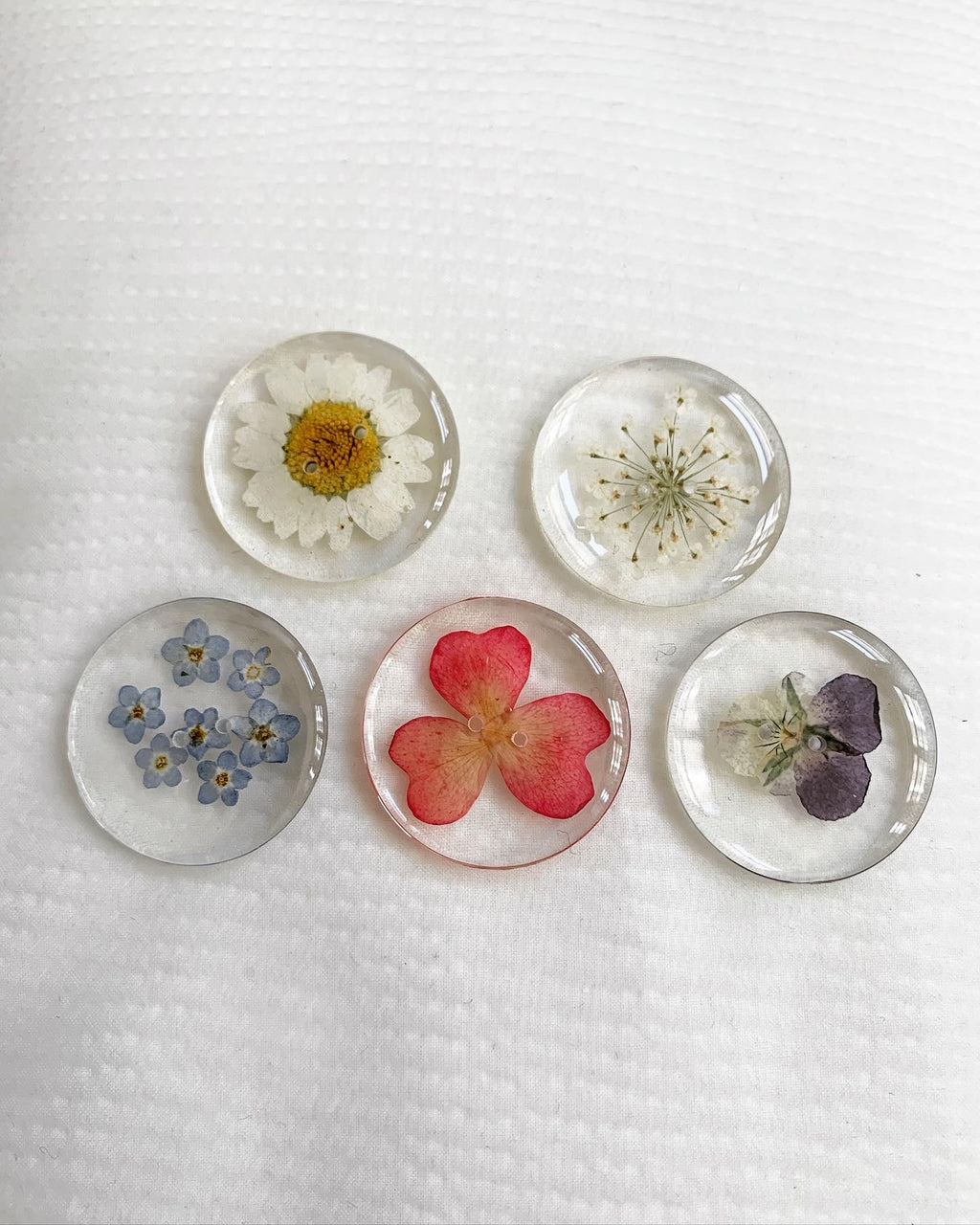 Botanical Buttons