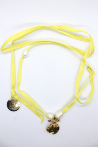 18k Gold Camp Necklace - Sunshine