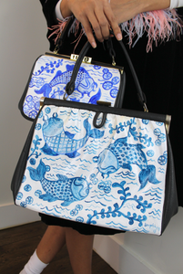 KOI KOI bag - large cerulean (vegan)