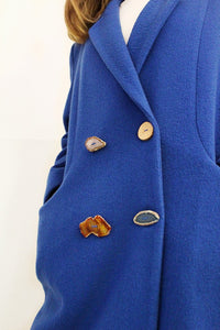 Josephine Slivered Agates Coat