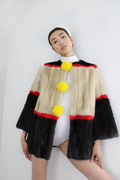 Billie Recycled Fur Coat