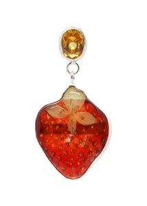 Strawberries and Champagne Earring (Pre-order)