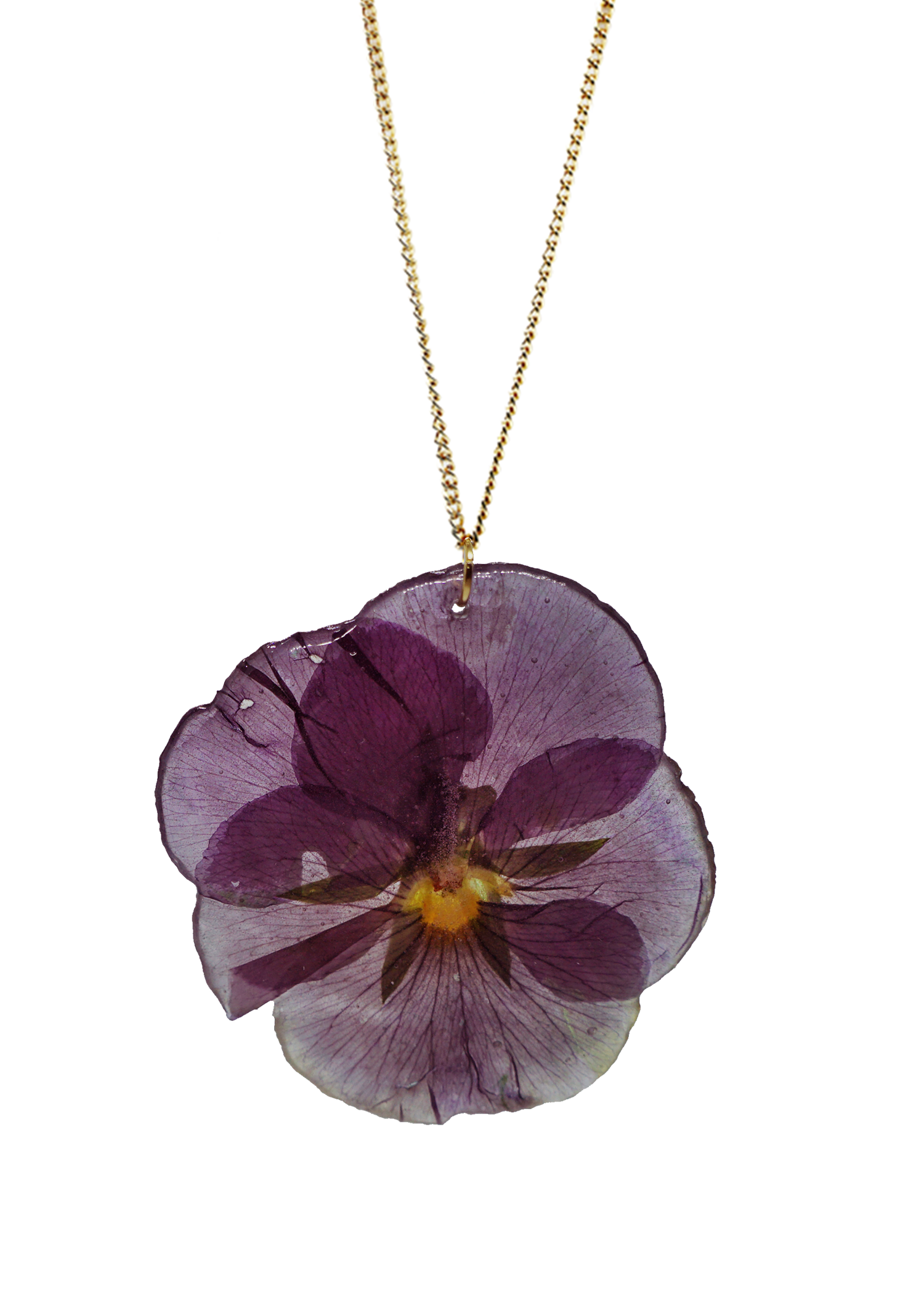 Sussex Pansy Necklace