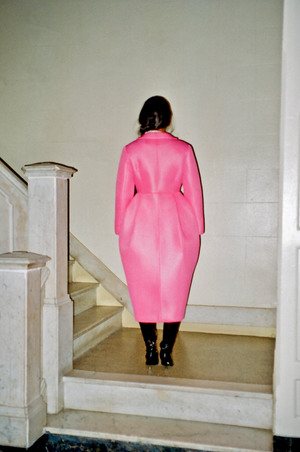 Tulip Coat in Bubblegum (Pre-Order)