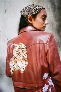 What The Tiger Says Jacket
