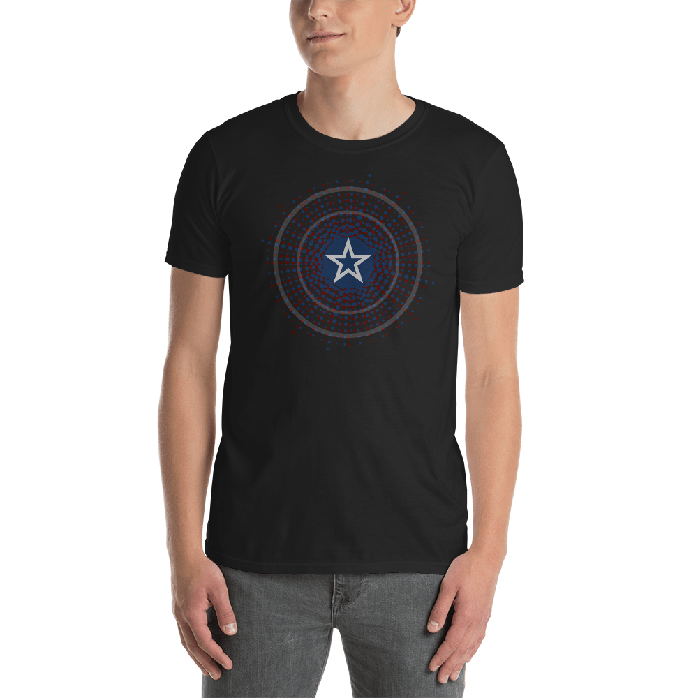 Star Shield Short-Sleeve Unisex T-Shirt