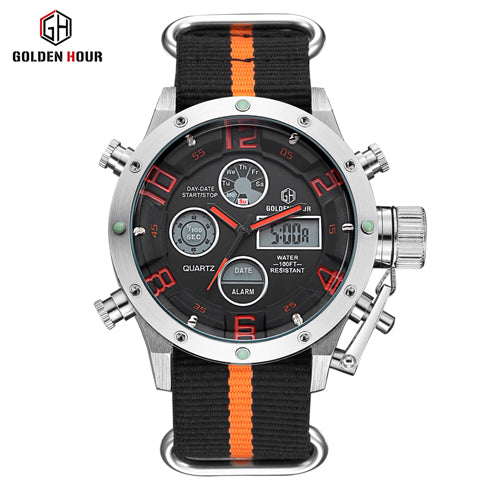 Luxury Brand Men's Quartz Watch