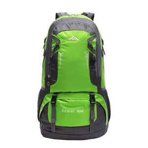 HU WAI JIAN FENG 60L Pro Outdoor Waterproof  Hiking Bag