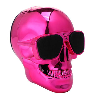 Skull Head Shape Wireless Bluetooth Speaker