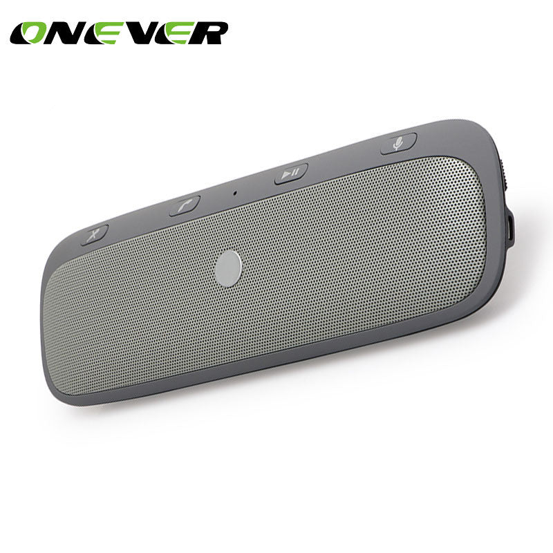 Onever Universal Wireless Car Bluetooth Speaker Hands-free Car Kit