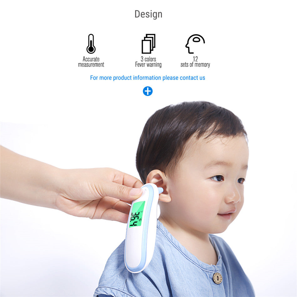 Yongrow Infrared Thermometer Baby Adult Medical Digital  Ear Thermometer