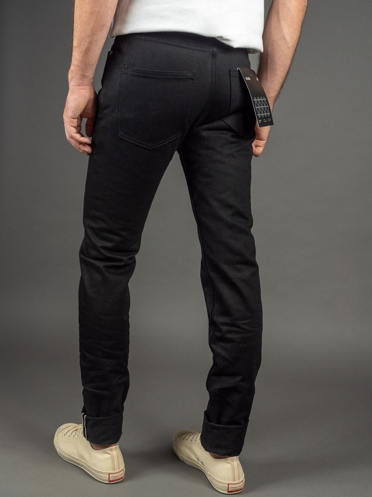 3sixteen NT-220x Shadow Selvedge Narrow Tapered Jeans back