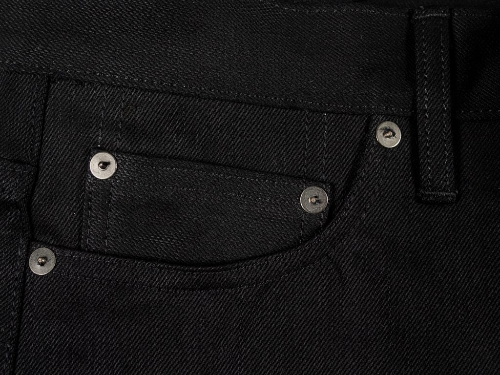 3sixteen NT-220x Shadow Selvedge Narrow Tapered Jeans coin pocket