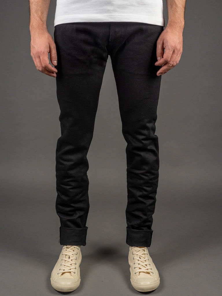 3sixteen NT-220x Shadow Selvedge Narrow Tapered Jeans double black