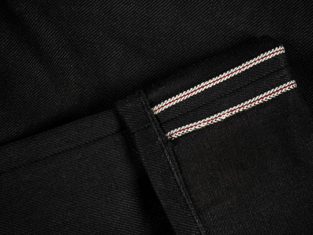 3sixteen NT-220x Shadow Narrow Tapered Jeans selvedge red line
