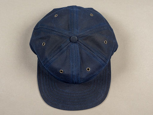 3sixteen Waxed Canvas Baseball Cap Navy