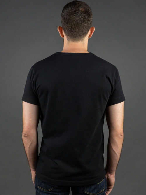 3sixteen Heavyweight T-Shirt Black back