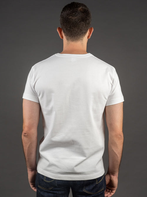 3sixteen Heavyweight T-Shirt white back
