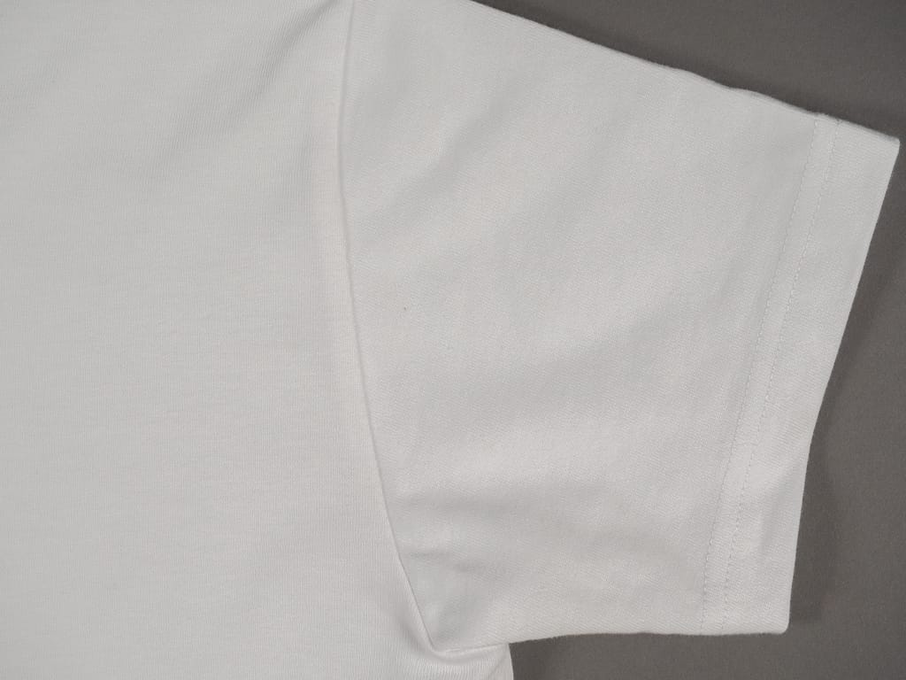 3sixteen Heavyweight T-Shirt white sleeve