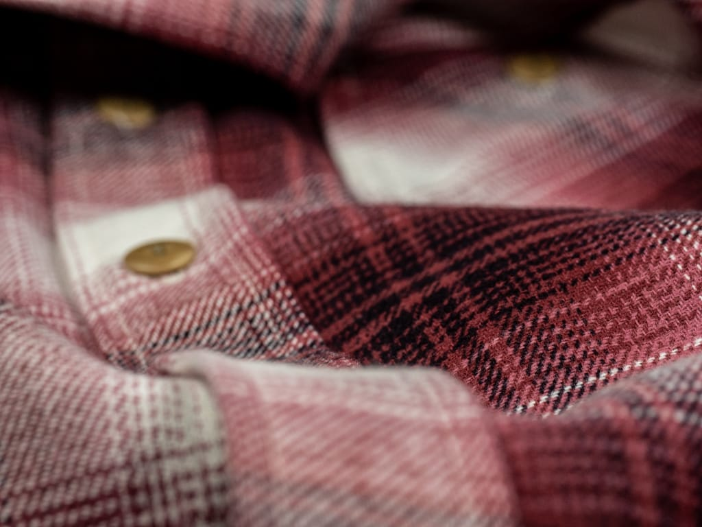 3sixteen Utility Shirt Flannel fabric