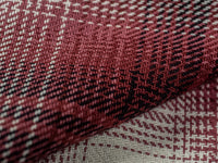 3sixteen Utility Shirt Red Flannel interior fabric