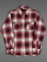 3sixteen Utility Shirt Red Flannel pattern