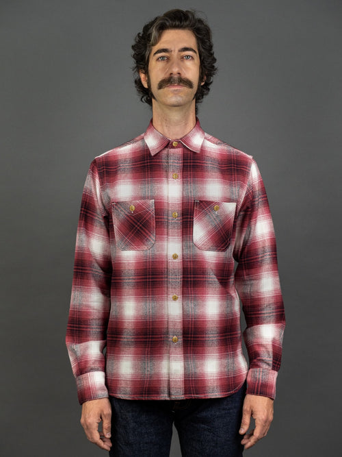 3sixteen Utility Shirt Red Flannel