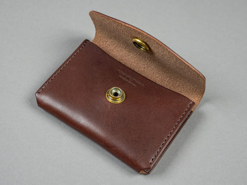 Kobashi Studio Leather Card Case central pocket