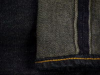 ONI 922S Deep Grey Overdye Stretch Jeans indigo selvedge