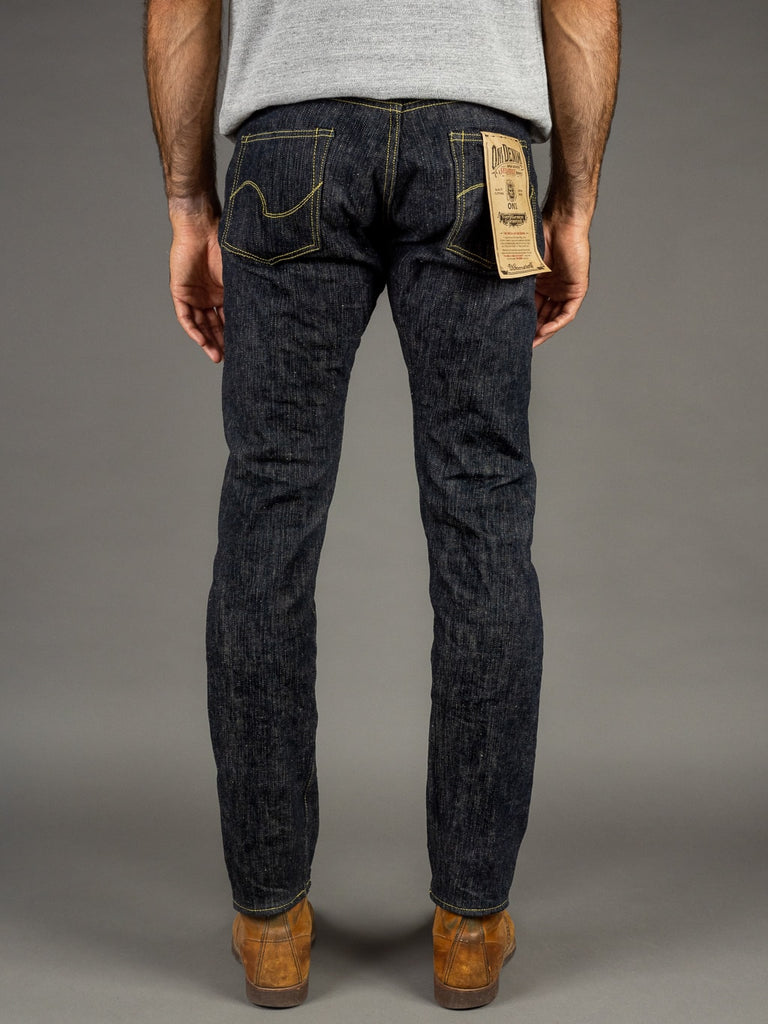 "ONI Denim 902 ""Kihannen"" High Rise Relaxed Tapered Jeans back"