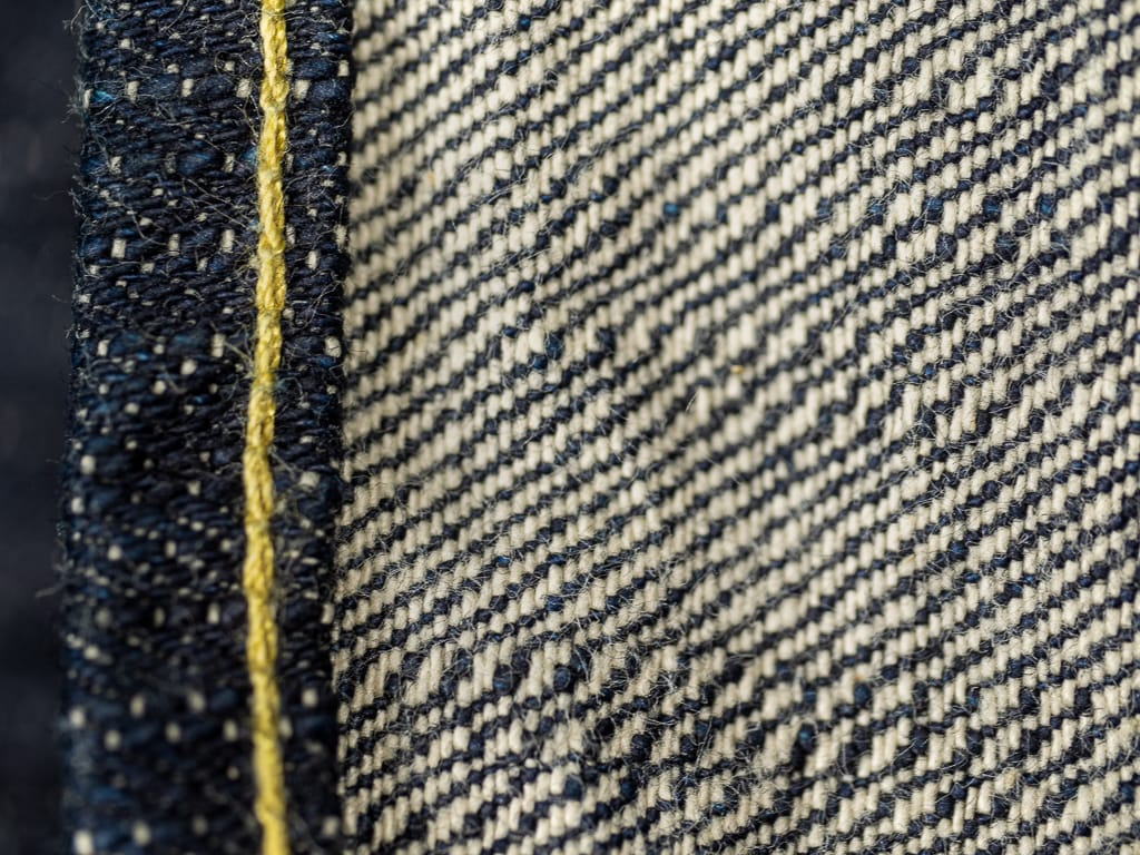 "ONI Denim 902 ""Kihannen"" Jeans fabric detail"