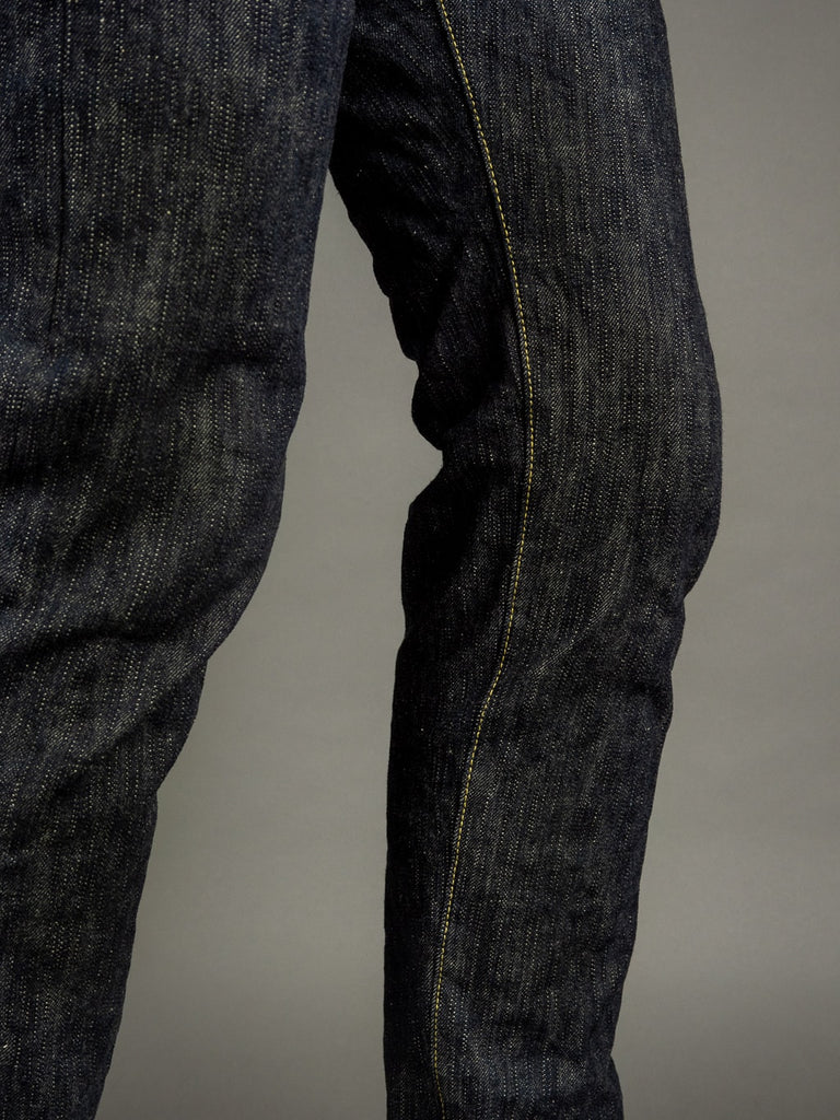 "ONI Denim 902 ""Kihannen"" High Rise Relaxed Tapered Jeans inseam"