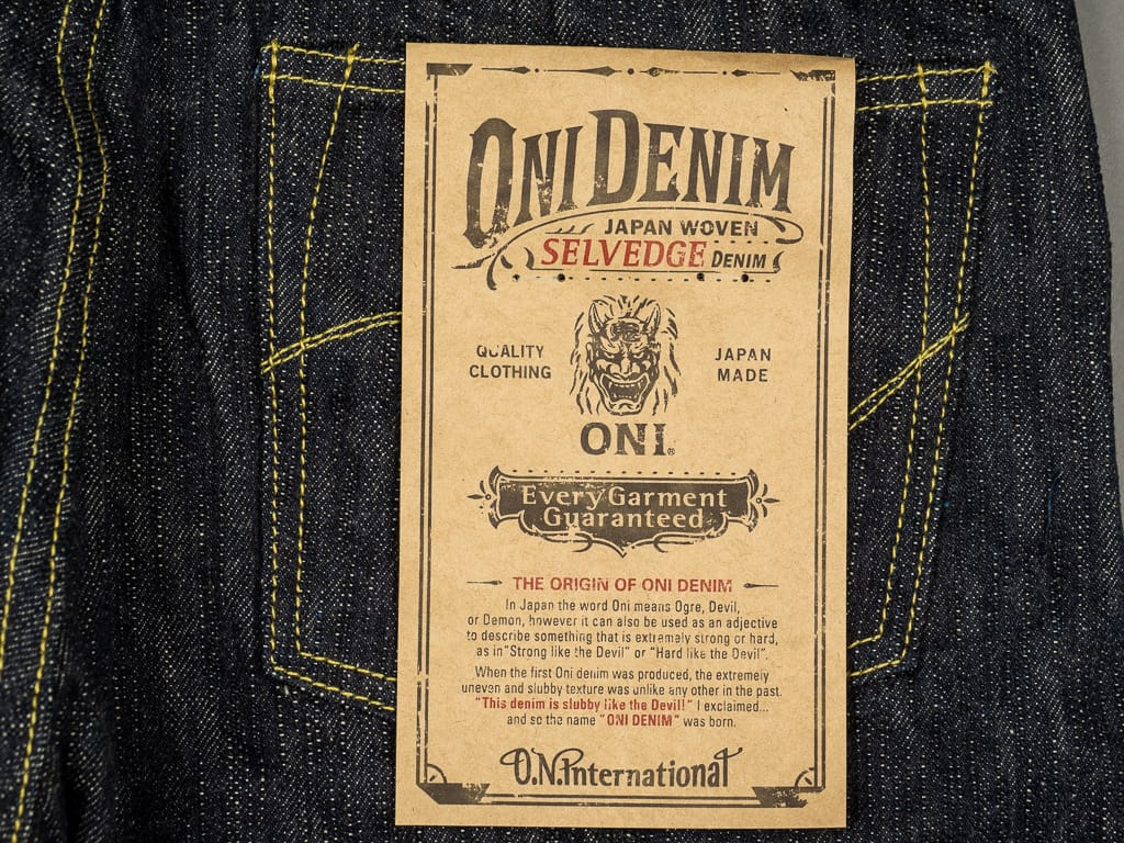 "ONI Denim 902 ""Kihannen"" Jeans label"