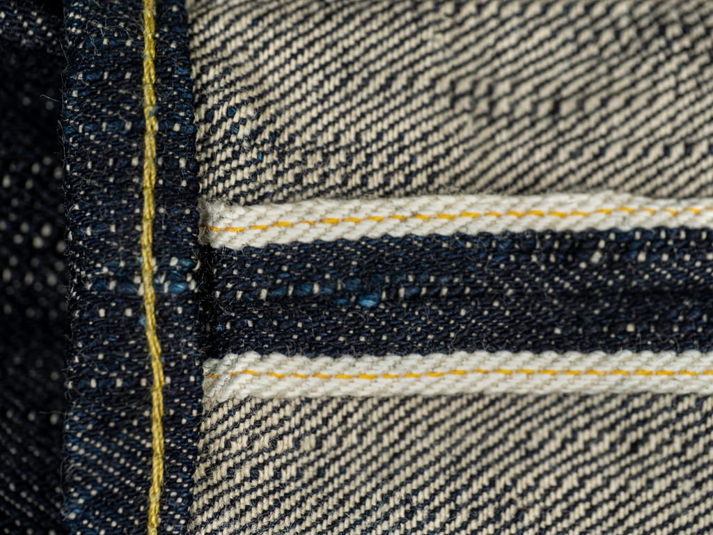"ONI Denim 902 ""Kihannen"" Jeans yellow selvedge line"