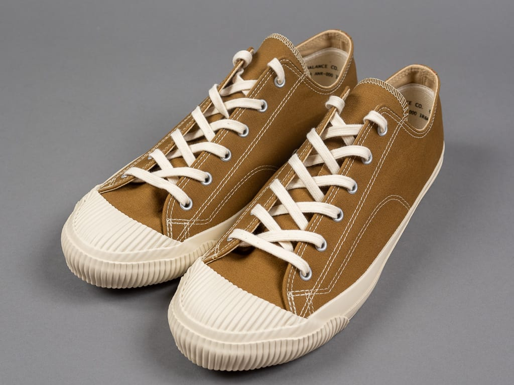 Pras shellcap low sneakers brown off white