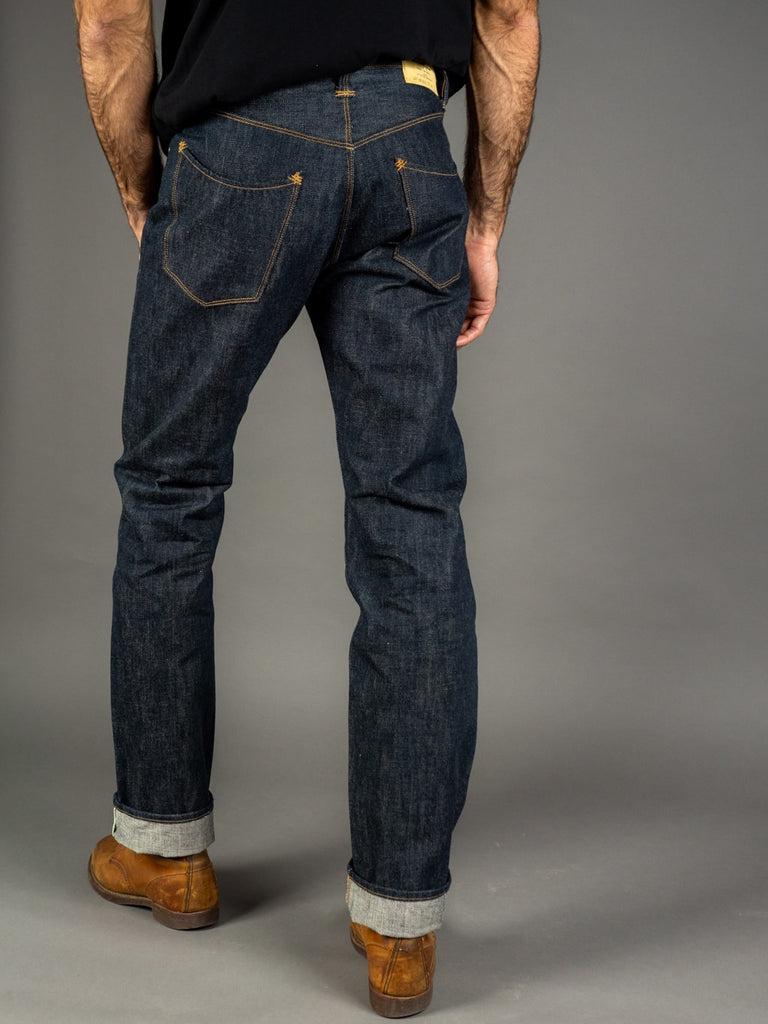 Stevenson Overall Ventura 737 Regular Straight Jeans back