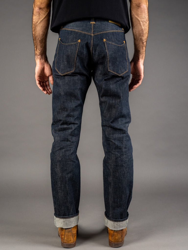 Stevenson Overall Ventura 737 Regular Straight selvedge Jeans back