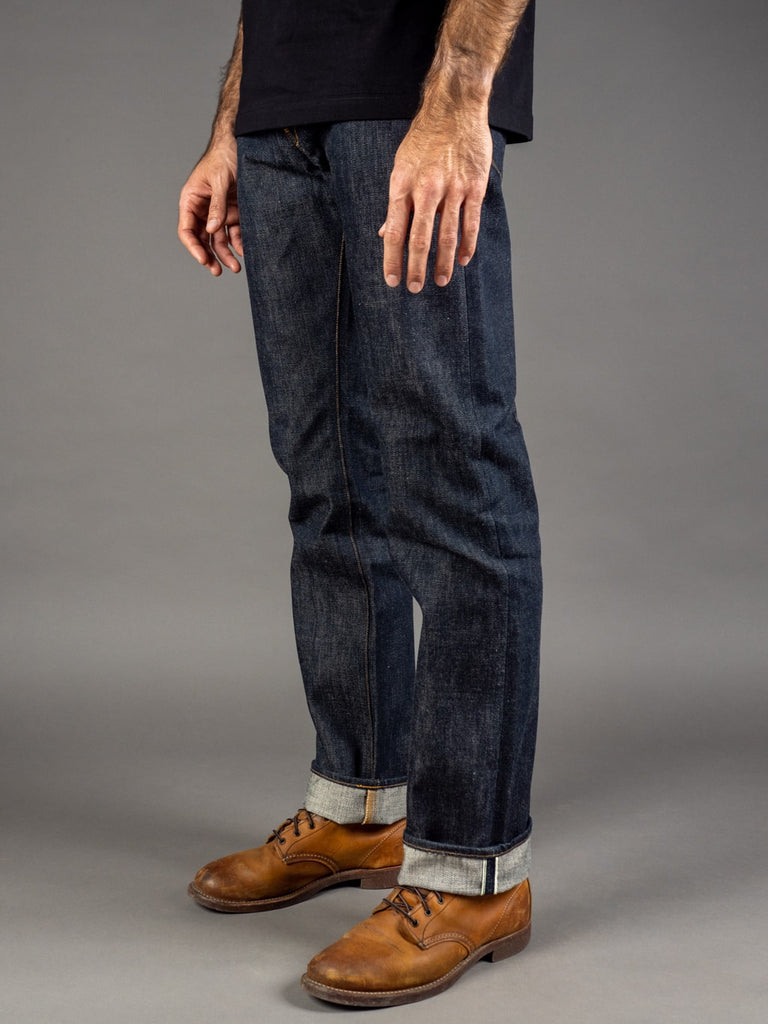 Stevenson Overall Ventura 737 Regular Straight selvedge Jeans side