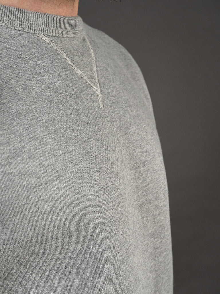 The Strike Gold Loopwheeled Sweatshirt Gray chest