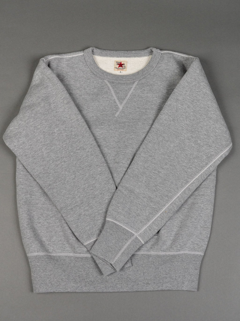 The Strike Gold Loopwheeled Sweatshirt Gray sleeves