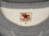 The Strike Gold Loopwheeled Sweatshirt Gray tag