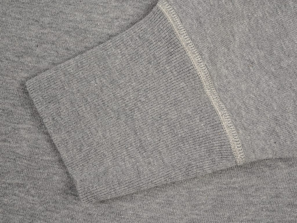 The Strike Gold Loopwheeled Sweatshirt Gray tubular cuff