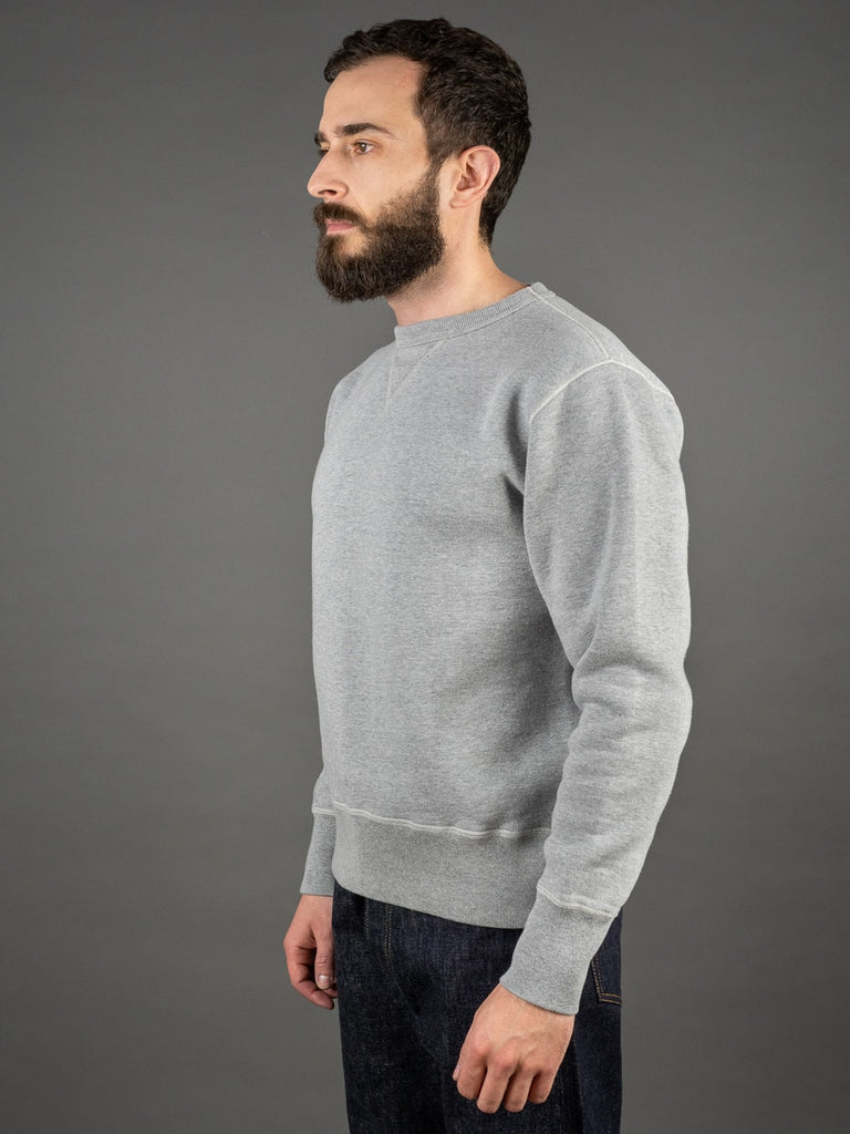 The Strike Gold Loopwheeled Sweatshirt Gray no side seams